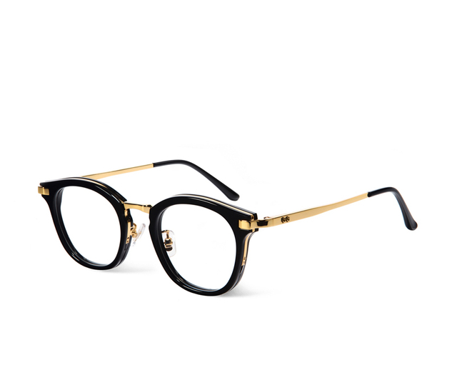 844c5b985f Korea eyeglasses rigo Round Frame Glasses Frame V logo Retro Women and Men  Reading Glass Protection Eyeglasses oculos de grau