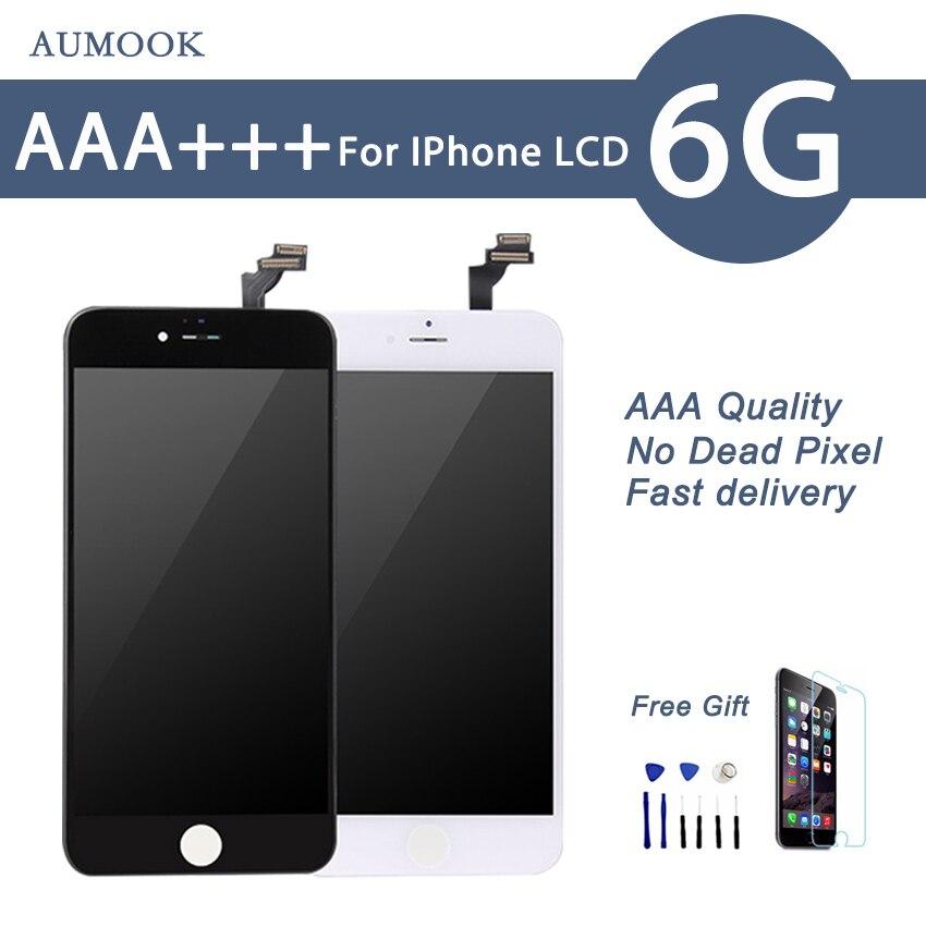 Grade AAA Brand New LCD Pour iPhone 6 Affichage Écran avec Écran Tactile Digitizer assemblée Remplacement Pantalla 4.7 Cadeaux Gratuits