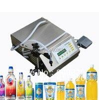 DHL FEDEX Free Shipping Manual Electric Digital Control Pump Liquid Filling And Sealing Machine 3 3000ml