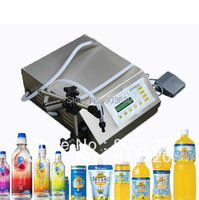 DHL FEDEX Free Shipping Manual Electric Digital Control Pump Liquid Filling And Sealing Machine 3 3000ml