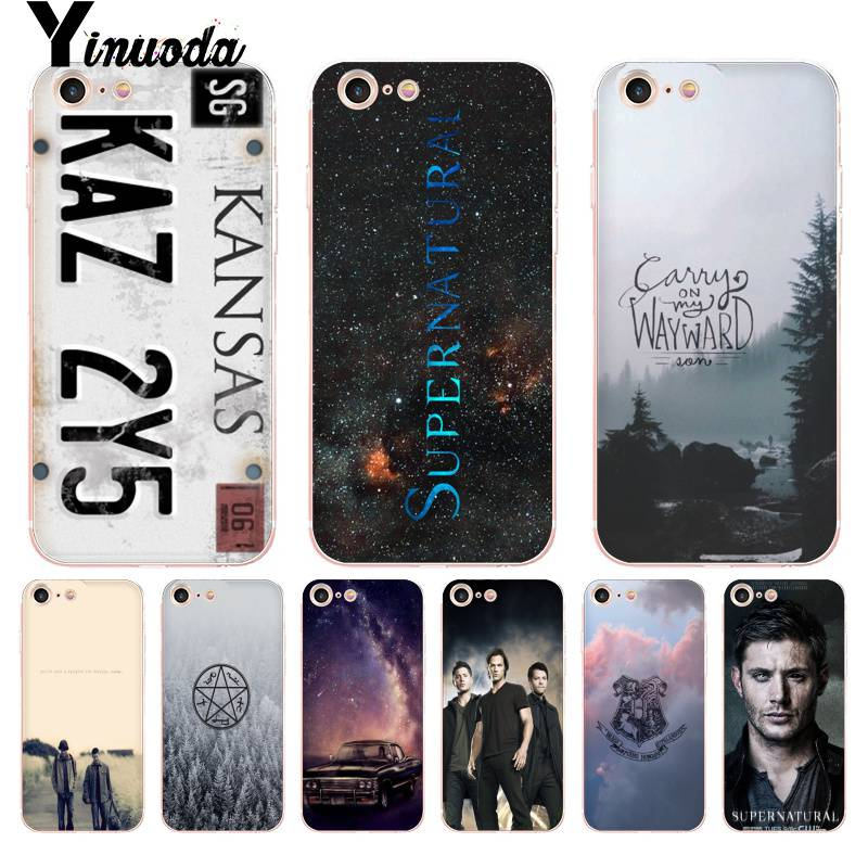 Yinuoda For iphone 7 6 X Case TV Play Supernatural License Plate KANSAS KAZ 2Y5 Phone Case for iPhone X 6 6s 7 8 8Plus 5 5S 5C image