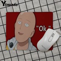 Yinuoda 2018 New One punch man Gamer Speed Mice Retail Small Rubber Mousepad Keyboard Mat Table mat anime mouse pads 4