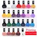 26 color nail polish oil Stamping 10ml nail stamping polish printing stamp dedicated authentic Sticker Nail art  Printing AS77