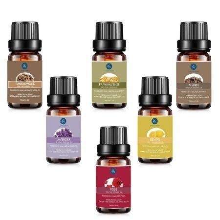 Lagunamoon Anti Aging Essential Oil Kit Blend Frankincense