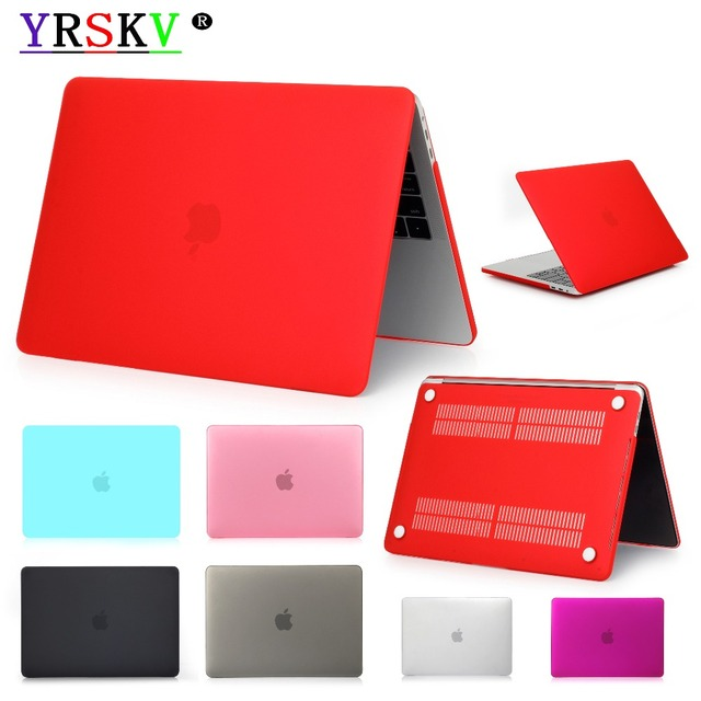 New,Matte/Laptop Case YRSKV For Apple MacBook Air Pro Retina 11 12 13 15 for mac book New Air A1932 Pro 13.3 15.4 with Touch Bar