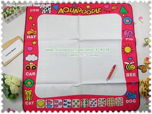 Free ship 1 piece  Mat+ 1 Pene big size water drawing  American Aquadoodle Aqua Doodle Mat&1 Magic Pen/Water Drawing Replacement