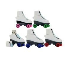 Creative Shoes Flash Drive Pendrive Usb Flash Roller Skates Usb Stick Usb 2 0 Usb Flash