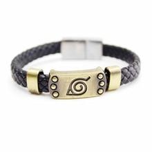 Naruto Braid Leather Bracelets & Bangles