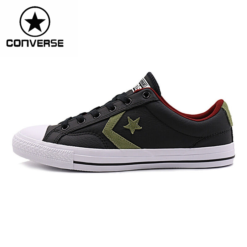 Original New Arrival Converse star player leather Unisex Skateboarding Shoes Sneakers original converse selene monochrome leather women s skateboarding shoes sneakers