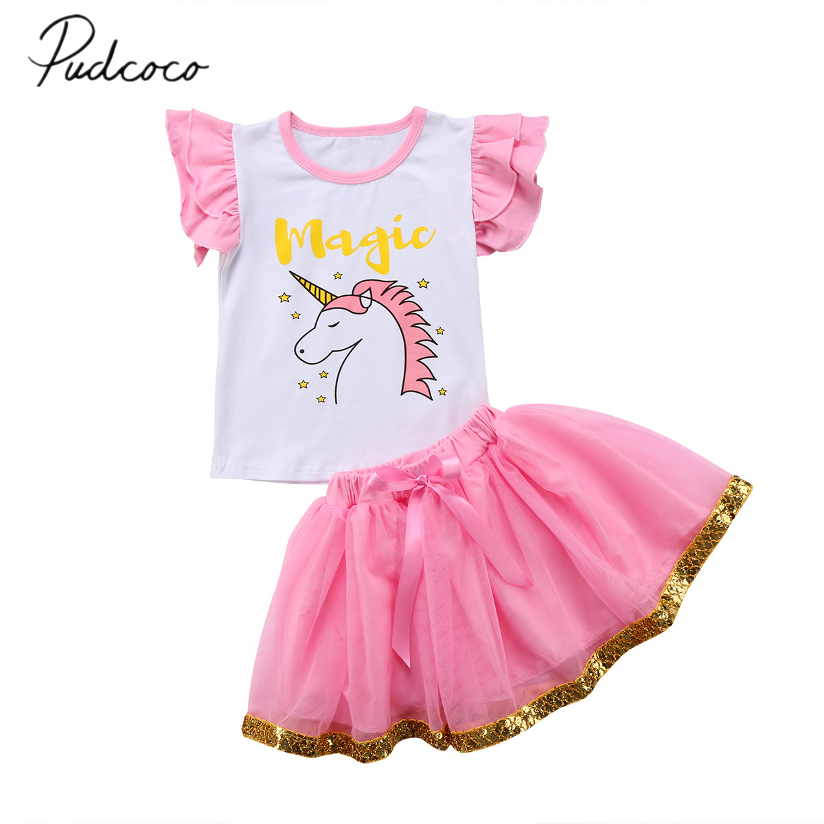 2018 brand new toddler infant child kids girl clothes