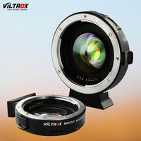 Viltrox EF M2 AF Auto Focus EXIF 0 71X Reduce Speed Booster Lens Adapter Turbo For