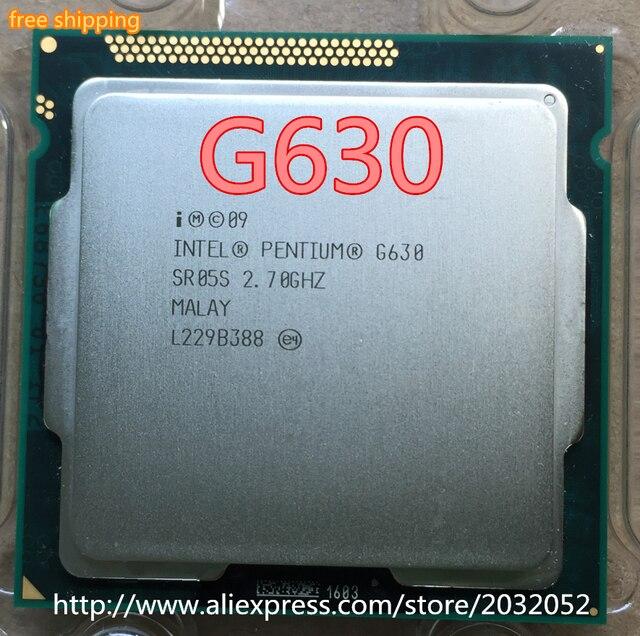 For Intel CPU Pentium G630 3M Cache/2.7/GHz LGA 1155 TDP 65W desktop CPU (working 100% Free Shipping)
