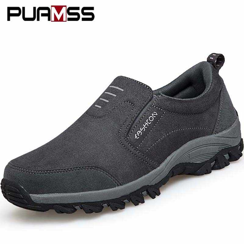 2019 New Men Walking Shoes Comfortable Wearable Autumn Outdoor Walking Winter Jogging Male Sneakers Shoes for Men