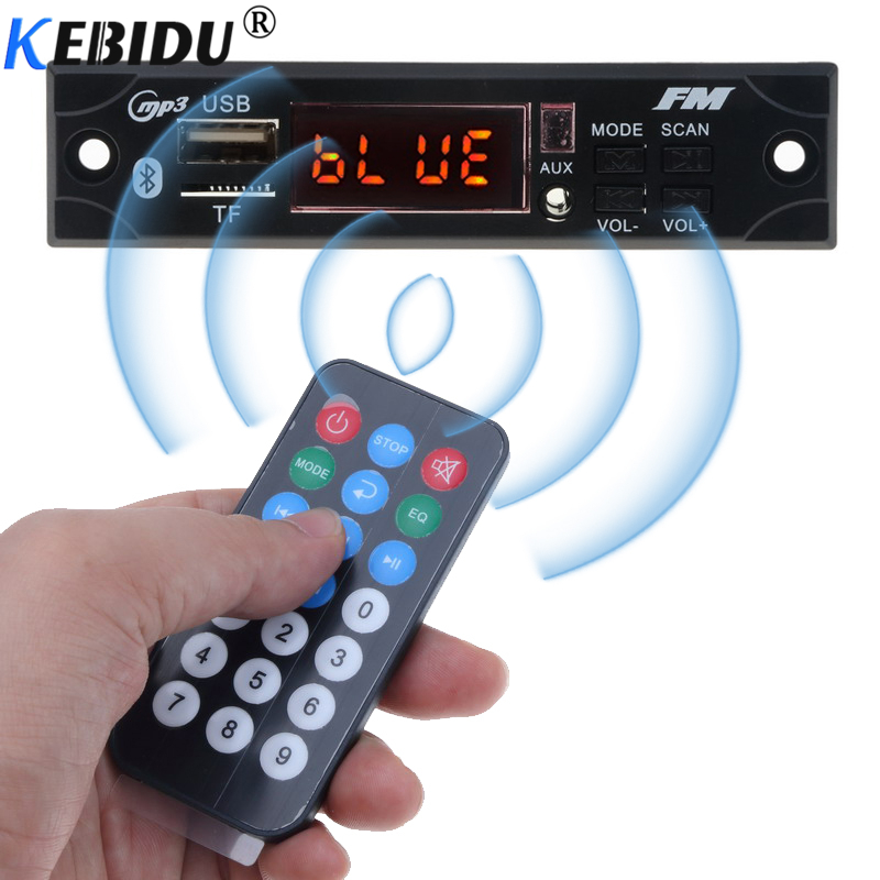 Unterhaltungselektronik Intelligent Kebidu 5 V 12 V Drahtlose Bluetooth Mp3 Wma Decoder Board Auto Audio Usb Tf Fm Radio Modul Mit Fernbedienung Steuerung Für Auto Zubehör Elegant Im Stil