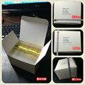 100 Шт./лот (50 шт. Золотого Цвета + 50 шт. Серебристый Цвет) 3D Клей-Чередование Лента Металлическая Пряжа Линия Nail Art Украшения Наклейки