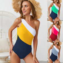 2019 Sexy Swimwear One Piece Swimsuit Women Backless Monokini Sport Bodysuit Beach Bathing Suit Swim maillot de bain femme YQ372(China)