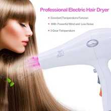 лучшая цена Fast Straight Hot Air Solano accessories Professional Hair Dryer Lightweight Low Noise Negative Ions Hair Blow Dryer New Arrival