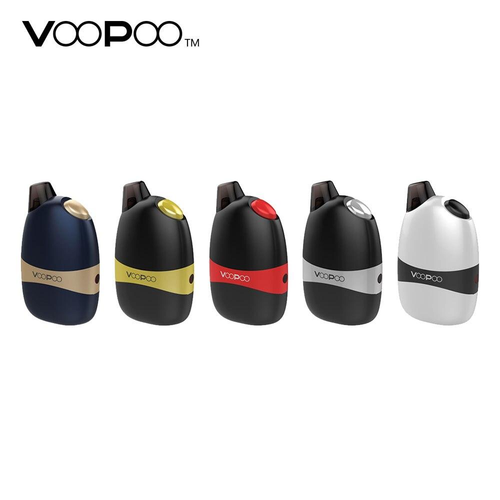 VOOPOO Panda AIO Pod Kit 1100 mah Batterie avec 5 ml/2 ml Pod Capacité 2 Gousses Option Électronique cigarette Tout-En-Un Pod Vaporisateur Kit
