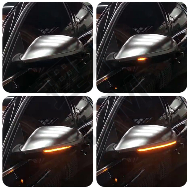 Indicatore LED dinamica di Retrovisione Specchio Disabilita Luce di Segnale Ripetitore Adatto per Audi A6 C7 4G S6 Car Styling accessori