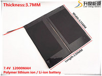 7 4V 12000mAH Li Ion Battery For PIPO M6 M6Pro M6Pro 3G Freelander PD800 Tablet PC