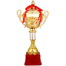 цена на Custom trophy hot sale Football trophy wholesale High quality metal  basketball trophy medal sports trophies