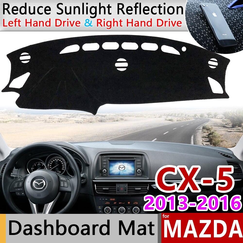 Для Mazda CX-5 2013 2014 2015 2016 KE Противоскользящий коврик на приборную панель солнцезащитный Коврик защитный ковер автомобильные аксессуары CX5 CX 5