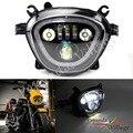 6500K 110W светодиодные фары для мотоцикла DRL Hi-Lo для Suzuki Boulevard M109R VZR1800 M90 2006-2019 водонепроницаемый налобный фонарь
