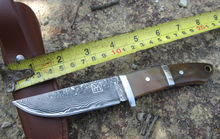 High quality army Survival knife high hardness wilderness knives essential self defense Camping Knife Hunting outdoor