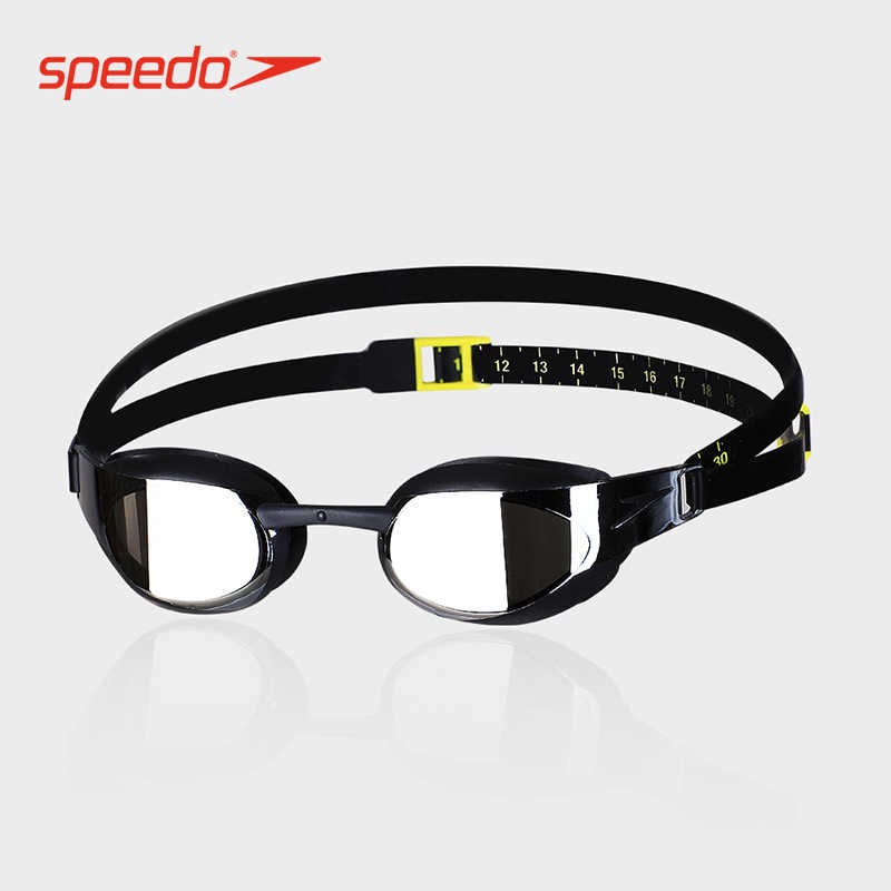 Speedo Fastskin Elite Goggle Mirror Quality Anti-fog Swimming Goggles For Women Or Men waterproof