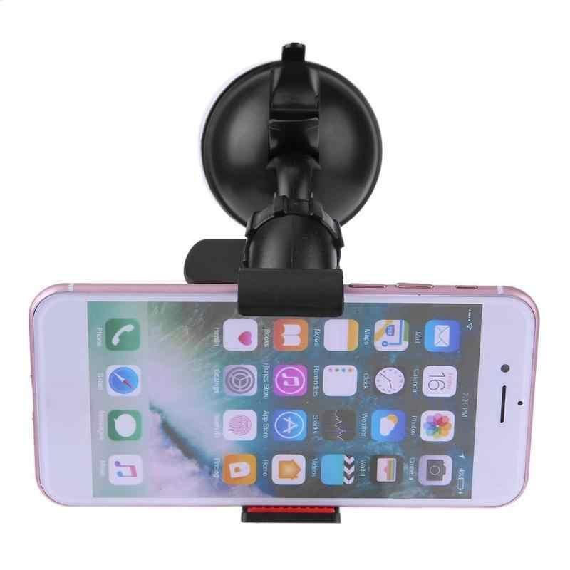 רכב מחזיק גמיש 360 ° סיבוב אוטומטי הר נייד מחזיק סוגר עבור Smartphone רכב מחזיק טלפון Stand תמיכת GPS DVR טלפון