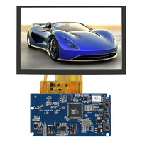 5 800x480 TFT LCD Display RGB LCD Display Module Kit Monitor for car AV Digital Photo Frame industrial control