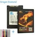 "Дракон Алмаз SSD 32 ГБ 16 ГБ 2.5 ""SATA 3 HDD SSD MLC 16 Г 32 Г Внутренняя Solid State Disk Для Рабочего Ноутбука Жесткий Диск S2"