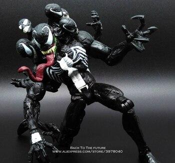 Disney Marvel Avengers spider Venom 20cm Action Figure Anime Mini Decoration PVC Collection Figurine Toy model for children