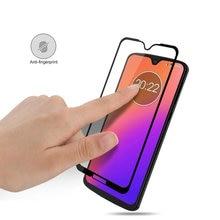 9 H Tam Kapak Temperli Cam Ekran Koruyucu için Motorola Moto için G7 Moto G7 Artı için Moto G7 Oynamak moto G7 Güç cam Filmi