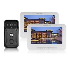 Doorbell-Monitor Phone-Intercom-System Video Outdoor-Camera 1200TVL Weatherproof 7inch