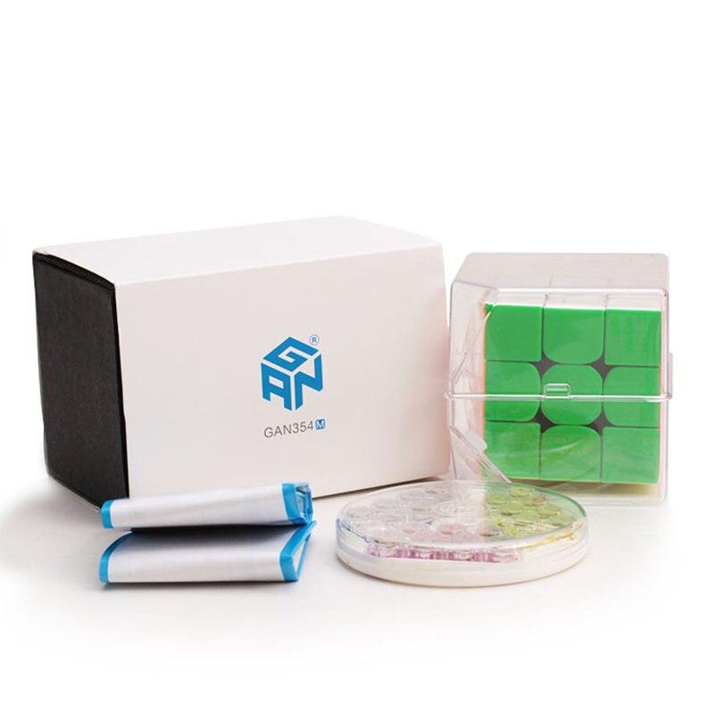 GAN 354 M 3x3 Cube de vitesse magnétique 3x3x3 Cube magique Gan 3*3 aimant professionnel Cubo Magico Puzzle jouets pour enfants - 4