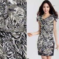 High - grade silk Burnt - out raw silk fabrics spring and summer dress shirts silk silk clothing fabrics