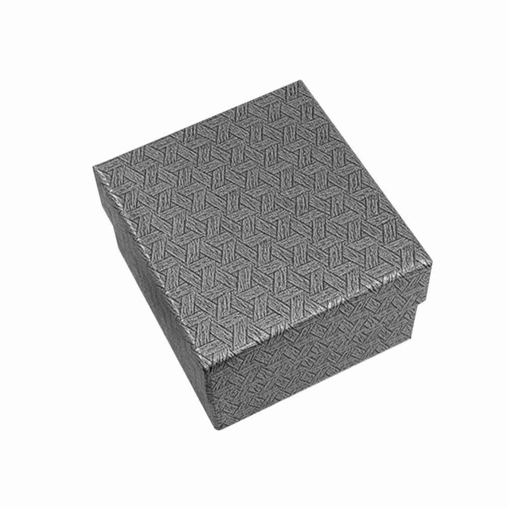 Caja de regalo duradera de moda hermosa caja de reloj pulsera brazalete de joyería de exhibición de la caja de presentación de la Caja 2019