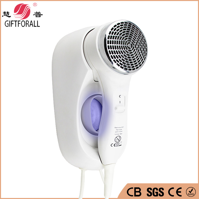GIFTFORALL Professional Hair Dryer Wall Mounted Hair Dryer Rack Bathroom Low Medium High Third Gear Mini Hair Dryer 67220-1 GIFTFORALL Professional Hair Dryer Wall Mounted Hair Dryer Rack Bathroom Low Medium High Third Gear Mini Hair Dryer 67220-1