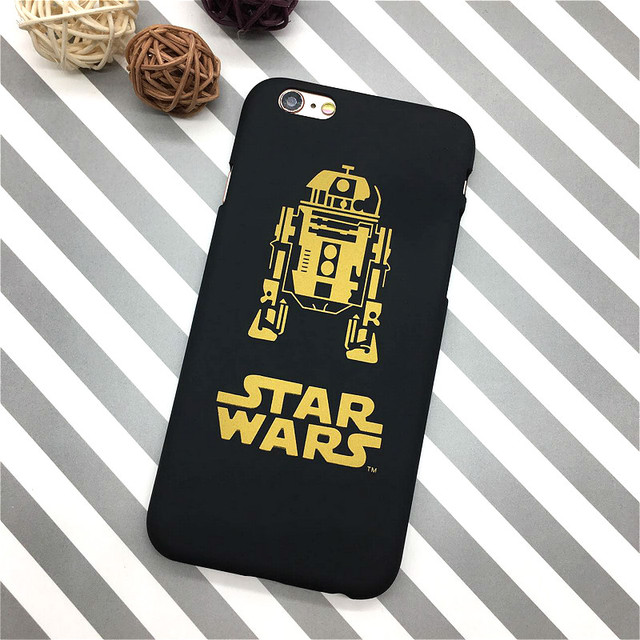Star Wars Slim Hard Matte Plastic Back Cover for iPhone 6 6s 5 5s se Phone Case Luxury Movie Film Ultra Thin Shell Capa