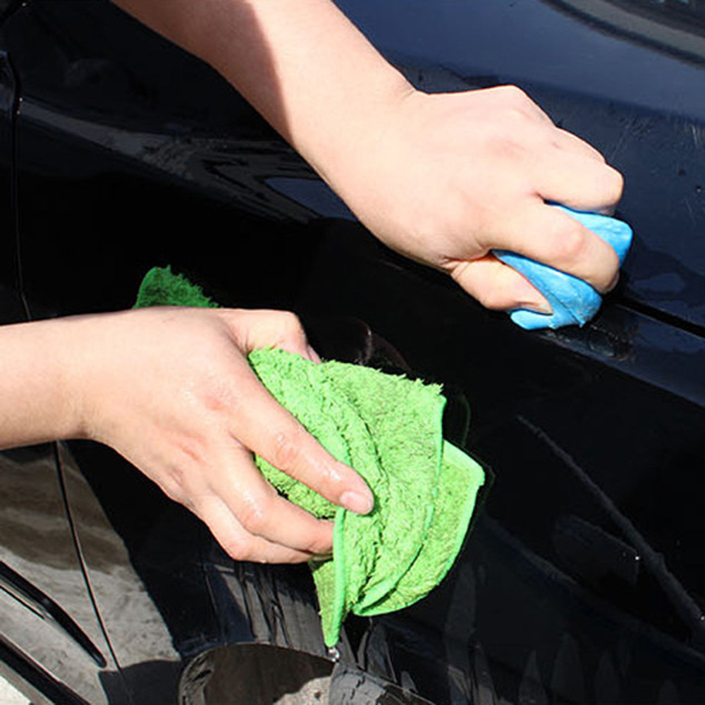 5pcs 100g Car Wash  Magic Car Truck Clean Clay Microfiber Towel Car Bar Auto Detailing Cleaner Car nettoyage voiture 9.5*6*2CM(China)
