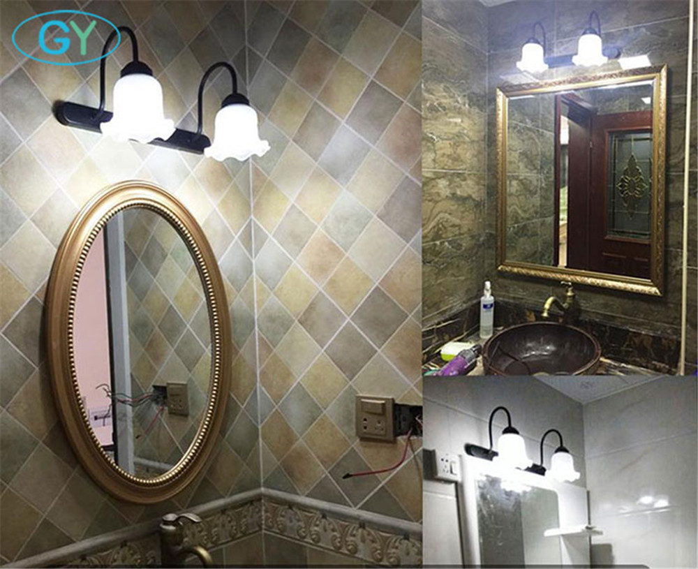 Badkamer Spiegel Licht : Europese stijl led front spiegel licht stks e led lampen