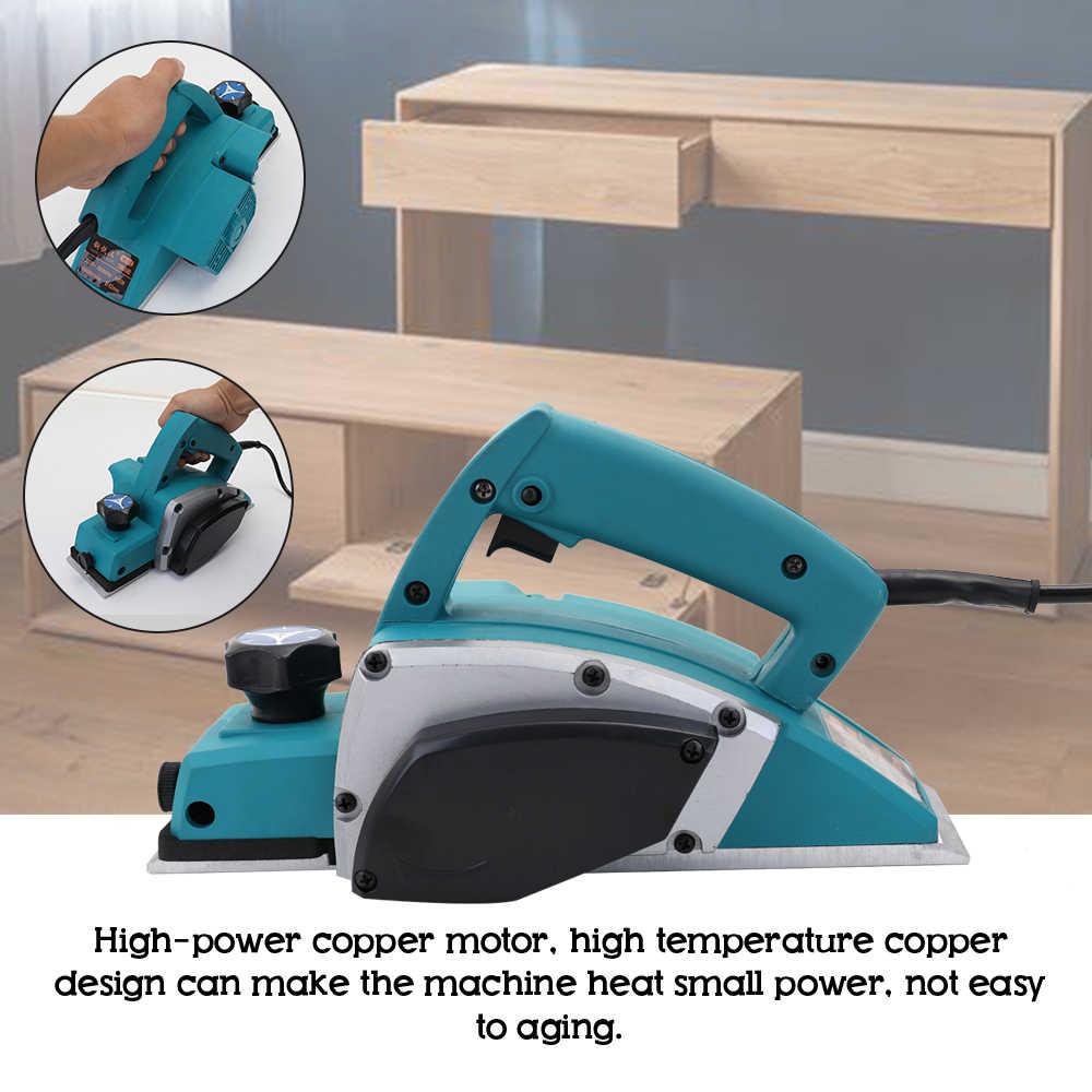 Multifungsi Electric Planer Kuat Kayu Handheld Carpenter Woodworking File Alat Rumah DIY Alat Kit