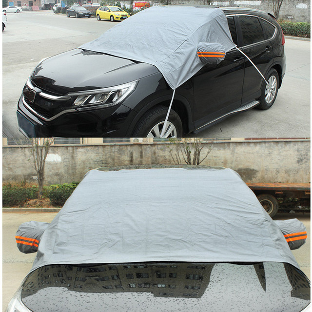 High Quality PEVA Cotton Car SUV Windshield Cover Window Mirror Protector Heat Sun Shade Anti Snow Frost Ice Dust Auto Cover