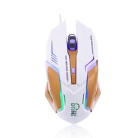 Dtime Computer Usb PC Wired Optical Mouse The Games For Dota2 Cs Go Souris Gaming Raton