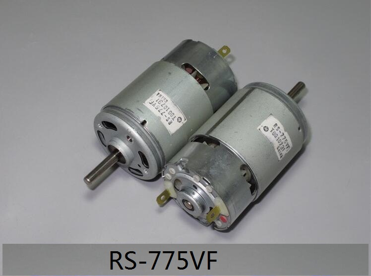 1PCS   RS-775VF-4047 Micro DC Motor RS-775VF Precious-metal Brush 5-36VDC High Speed Motor RS775