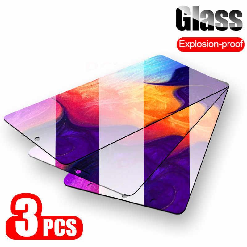 3 قطعة زجاج واقي لسامسونج غالاكسي A50 A30 A20 واقي للشاشة لسامسونج M10 M20 M30 A40 A70 A80 A90 A10 الزجاج المقسى