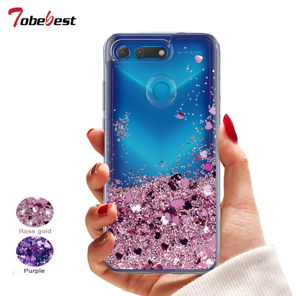 New Arrivals Dynamic Liquid Glitter Sand Quicksand Star Soft Tpu Case For Huawei P20 Lite Crystal Clear Back Cover Hoesje Cellphones & Telecommunications