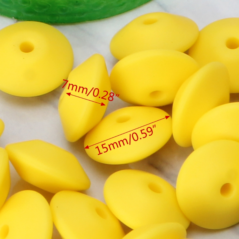 Learning & Education Accessories 20pcs Lentil Abacus Teething Silicone Beads Math Learn Aid Caculating Toys Gifts