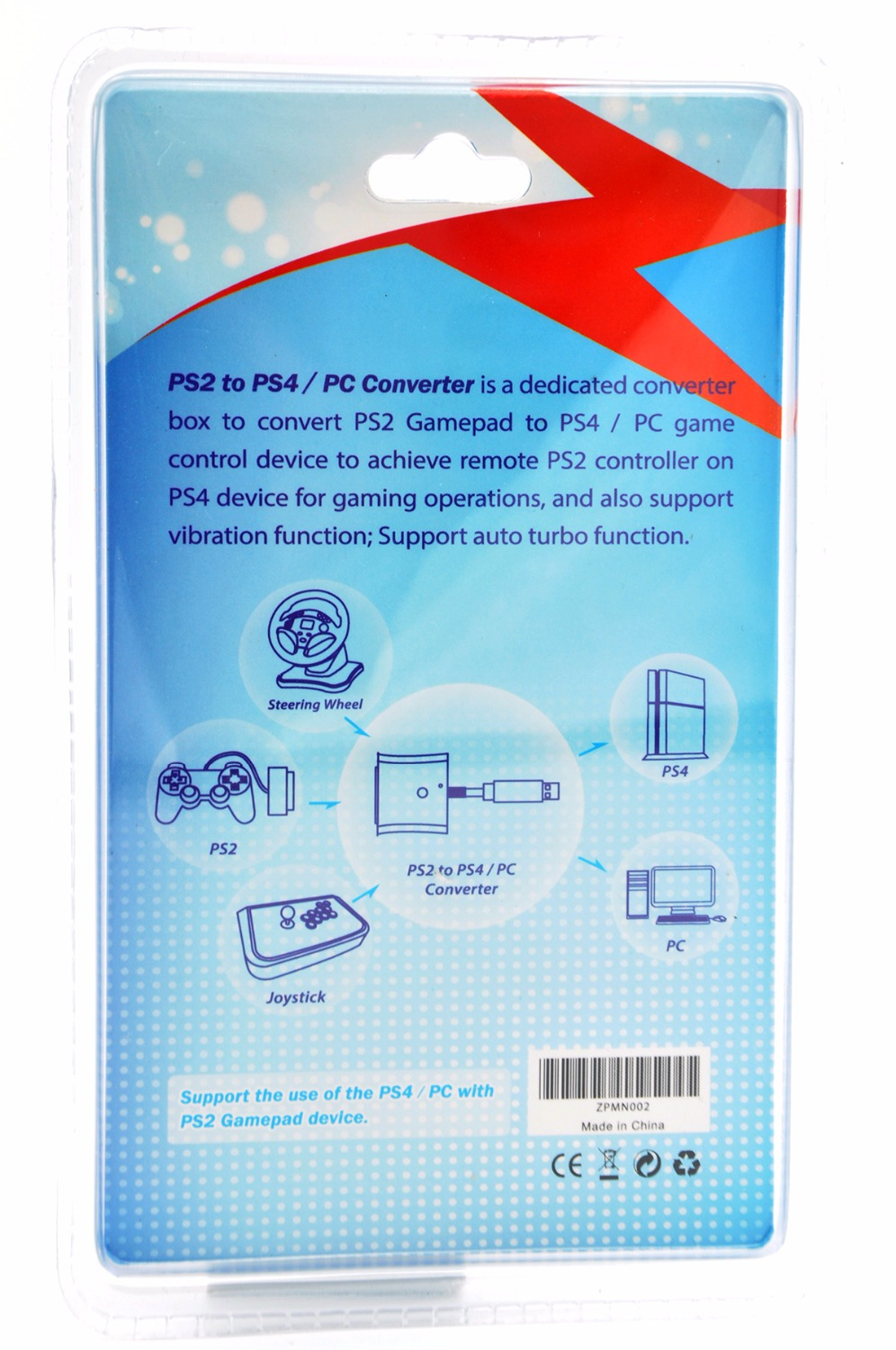 Brook Usb Super Converter For Ps2 To Ps3 Ps4 Controller Wiring Diagram Along With Neo Geo Adapter Use Your Controllers In Replacement Parts Accessories